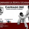 Seminario di Koryu Uchinadi a Cavriago (RE)