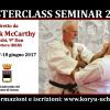 Masterclass Seminar 2017 con Hanshi Patrick McCarthy a Cesena