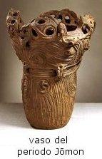 caratteristico vaso del periodo Jomon