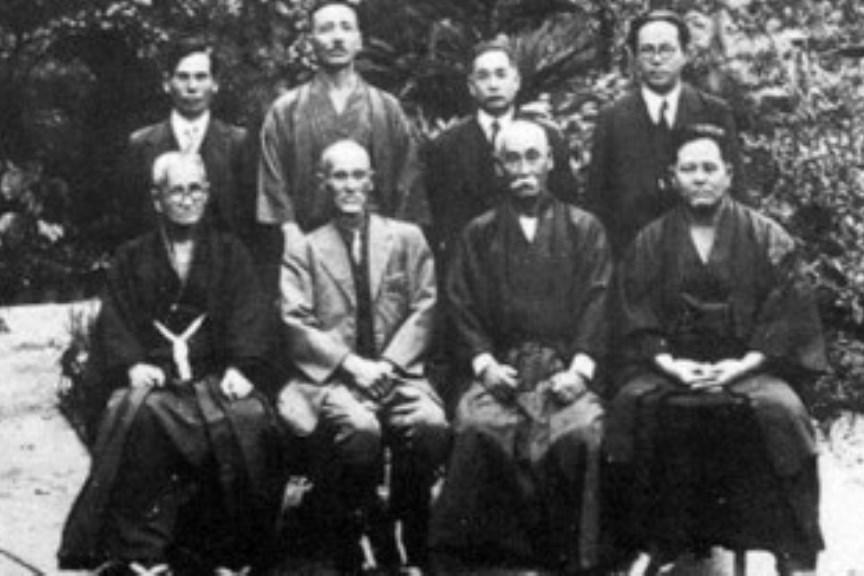 L'incontro dei maestri di Okinawa nel 1936