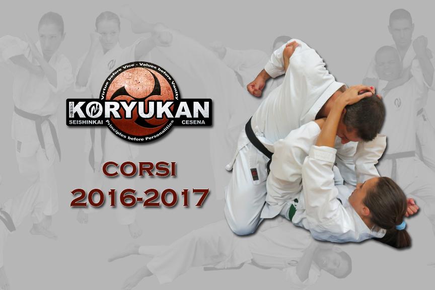 Orari e date di inizio corsi Koryu Uchinadi a Cesena per l'anno 2016-17