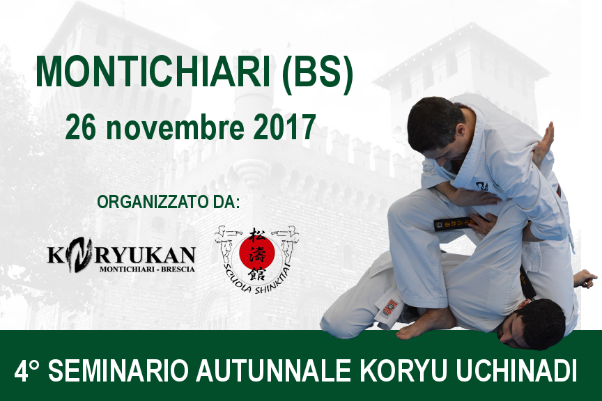 4° Seminario Autunnale di Koryu Uchinadi - Montichiari (BS)
