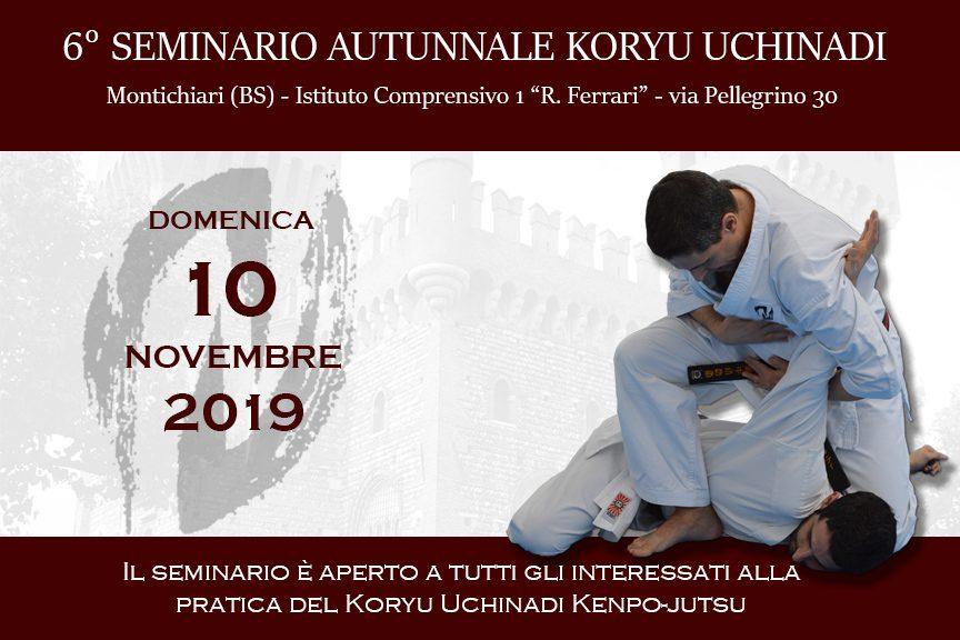 Sesto Seminario Autunnale Koryu Uchinadi