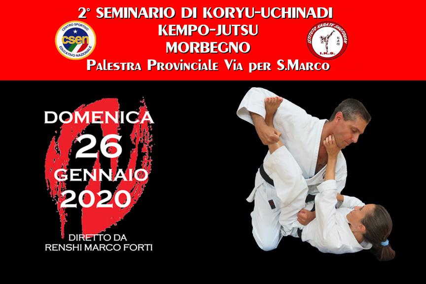Secondo seminario di Koryu Uchinadi a Morbegno (SO)