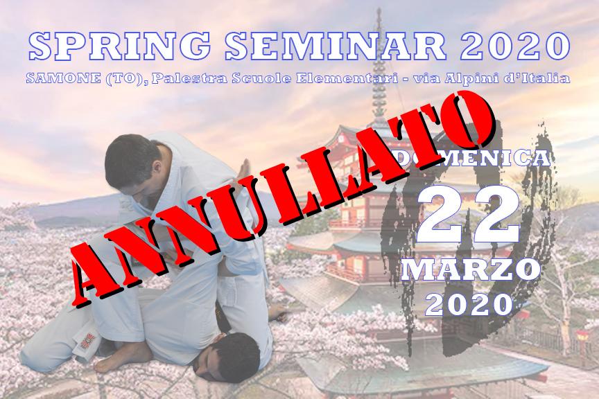 ANNULLATO - Spring Seminar 2020